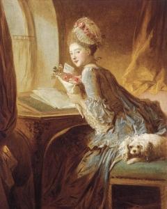 Jean Honore Fragonard - Lettre d'amour